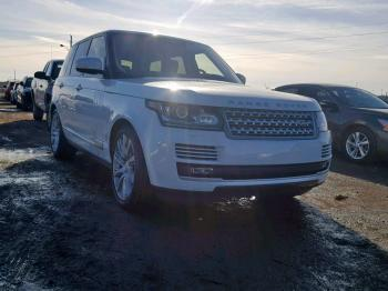 Salvage Land Rover Range Rove